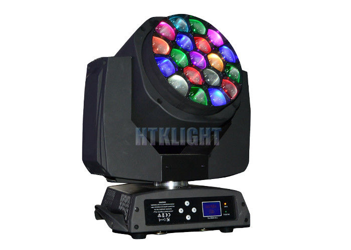 Bee Eye K10 LED 19x15W RGBW Moving Head LED Stage Lights 60Hz 8000K