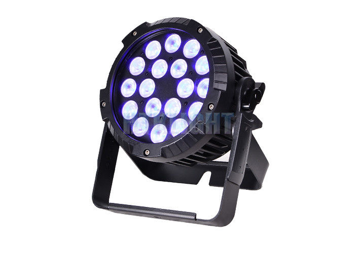 Energy Efficiency Cree LED Par 18X18w Rgbwa UV 5 In 1 50000hrs Lifespan